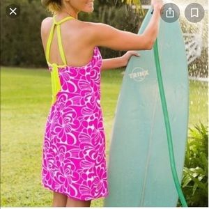 Athleta Kokomo Swim Dress Sz M